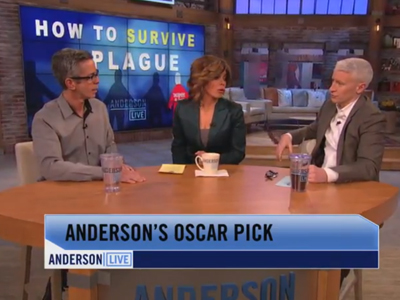 WATCH: Anderson Cooper's Oscar Pick is AIDS Documentary How to Survive a Plague