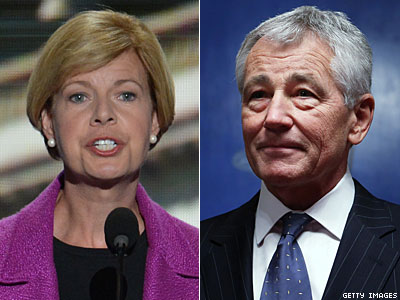 Tammy Baldwin Supports Chuck Hagel as Defense Secretary