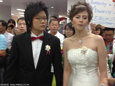 Lesbian Couple Tries to Marry in Thailand's Town of Love