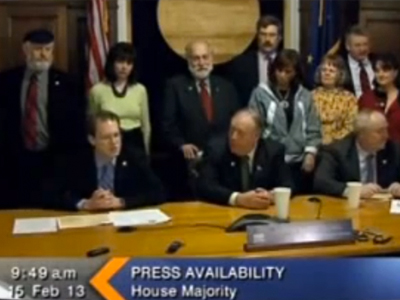WATCH: Alaska Republicans Laugh at Reporter Who Asks About Gay Couples