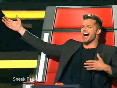 WATCH: First Look at Ricky Martin on The Voice