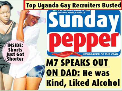 Ugandan Tabloid Puts Gays at Risk to Sell Papers