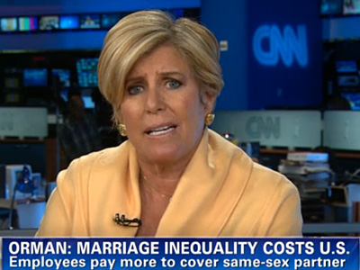 Suze Orman: Straight Couples Wouldn't Stand for Financial Inequality