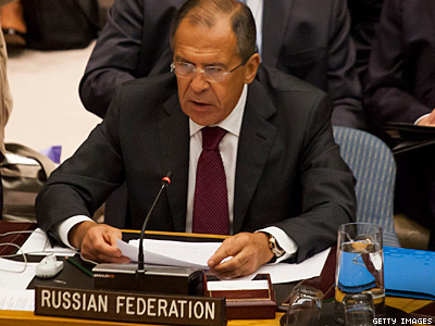 Russian Foreign Minister Defends Propaganda Bill