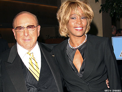 WATCH: Clive Davis Reacts to Whitney Houston Lesbian Rumors