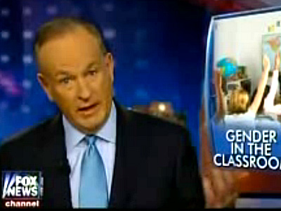 WATCH: Bill O'Reilly Says Supporting Trans Students Is 'Truly Madness'