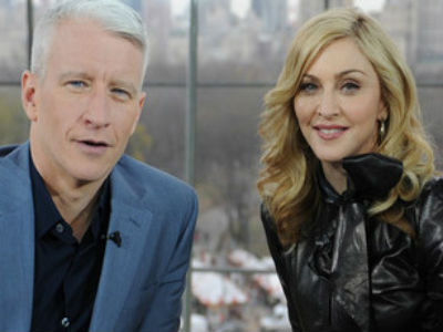 Madonna to Present Anderson Cooper's GLAAD Award