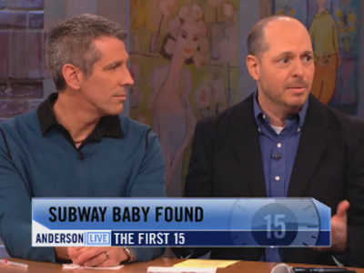 WATCH: Anderson Cooper Talks to Gay Dads Who Found Their Baby on the Subway