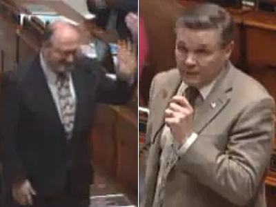 Rep. Introduces Ex-Gay Friend to Bolster Antimarriage Stance