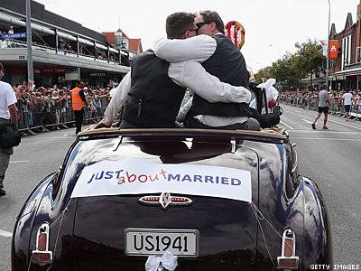 N.Z. Parliament One Step From Approving Marriage Equality