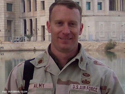 Maj. Mike Almy, Discharged Under DADT, Reaches Settlement