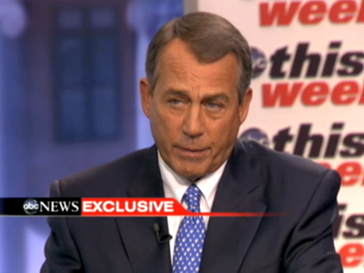 WATCH: John Boehner 'Can't Imagine' He Would Ever Support Marriage Equality
