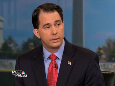 WATCH: Scott Walker Doesn't Want to Talk About Marriage Equality