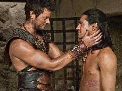 WATCH: Is the End Near for Gay Couple on Spartacus?