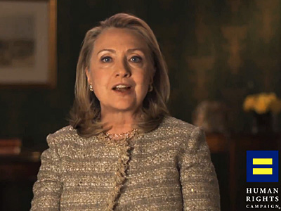 Hillary Clinton Comes Out for Marriage Equality