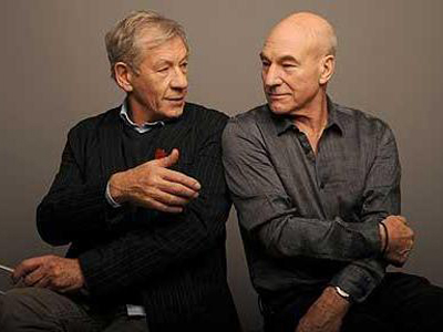 Ian McKellen: 'I'm Going to Marry Patrick Stewart'
