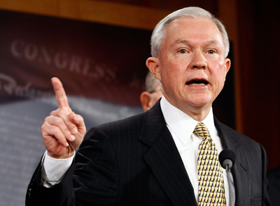 Ala. Senator Jeff Sessions Clarifies: I'm Not for Gay Marriage