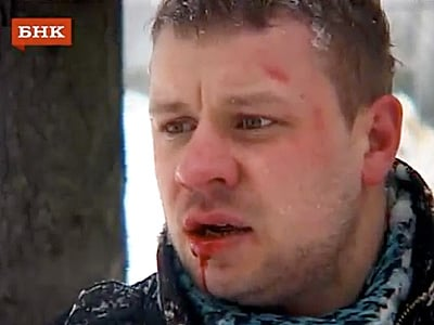 WATCH: Russian LGBT Activist Attacked as City Cracks Down on Pride March
