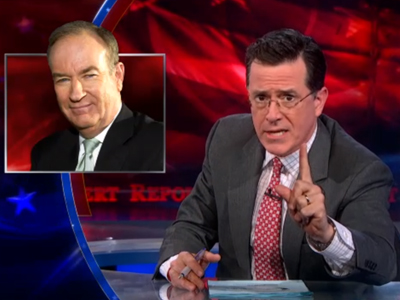 WATCH: Stephen Colbert Says Bill O'Reilly Is Pro-Goat Marriage