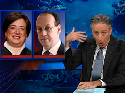 WATCH: Jon Stewart Takes Supremes to Task Over DOMA
