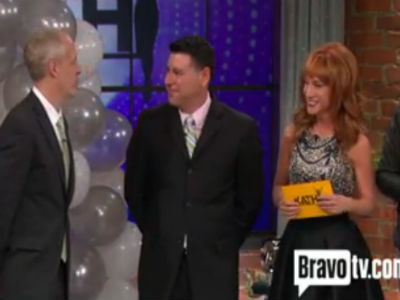 WATCH: Kathy Griffin Remarries Gay Couple