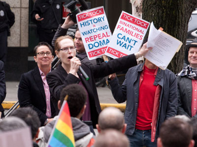 WATCH: Seattle Marriage Equality USA Rally Highlights