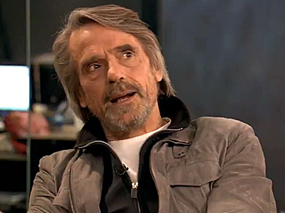 WATCH: Jeremy Irons Is Worried Gays Will 'Debase' Marriage
