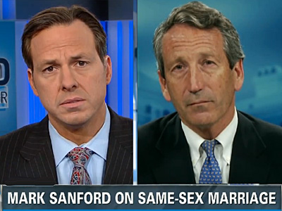 Mark Sanford Has Federalism Answer for Marriage Equality