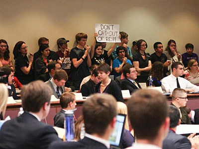 UPDATE: Texas A&M Student Body President Vetoes Antigay Measure