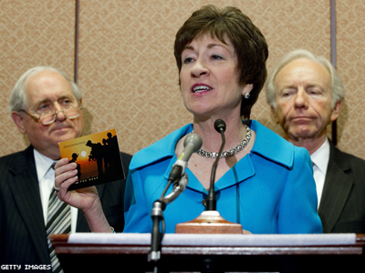 Does Sen. Susan Collins Support Marriage Equality?