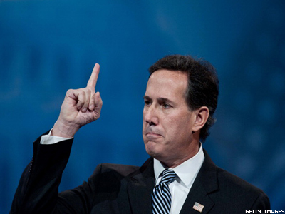 Santorum: GOP Supporting Marriage Would Be 'Suicidal'