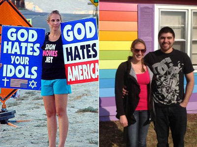 Former Westboro Member Now Supports Equality At Topeka's Rainbow House