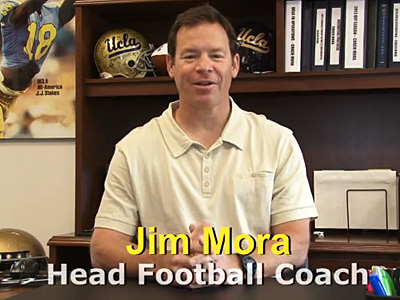 WATCH: UCLA Football Coach Welcomes Gay Players