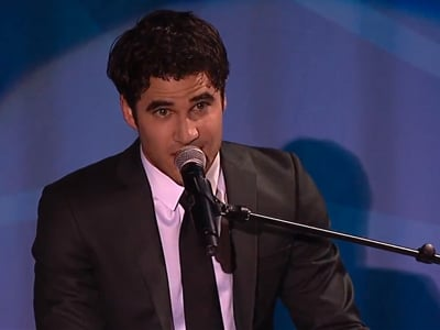 WATCH: Darren Criss Performs Gayest 'Call Me Maybe' Cover Ever at GLAAD Awards