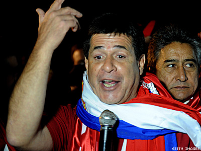 Privileged Homophobe Wins Paraguay Presidential Election