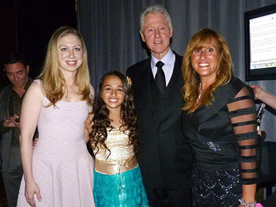 WATCH: 12-Year-Old Trans Girl Gets Praise Glee Star and Bill Clinton