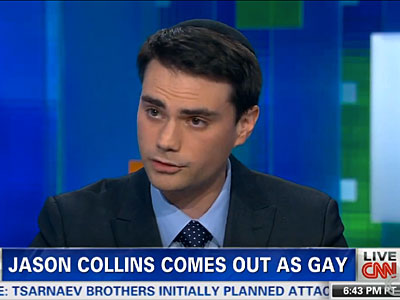 WATCH: Breitbart's Ben Shapiro Says Stupid Things About Jason Collins