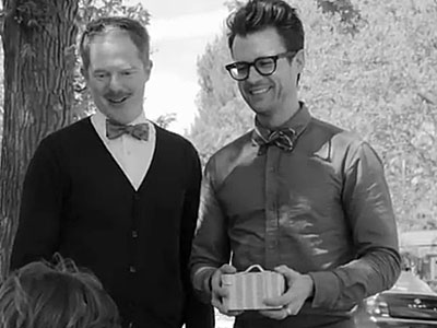 Gay Celebs Team Up in the Name of Bow Ties and Marriage Equality