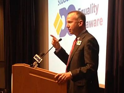 WATCH: Delaware Governor Talks About Signing Marriage Equality Into Law