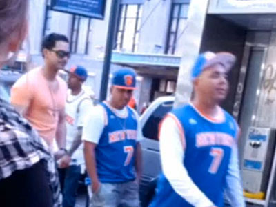 WATCH: NYPD Releases Video of 8 Knicks Fans Suspected in Antigay Assault