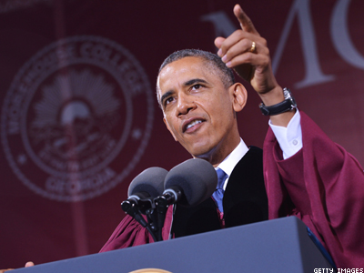 WATCH: President Obama Tells Morehouse Grads 'Be the Best Husband to Your Boyfriend'