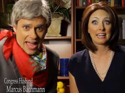 WATCH: Michele Bachmann's Future, as Imagined by Funny or Die