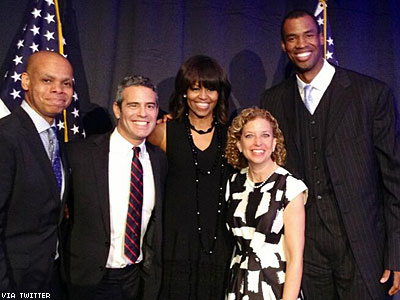 Jason Collins, Michelle Obama Have Mutual Admiration Society