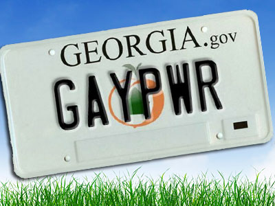 Georgia Clears Roadblock to Gay-Related License Plates