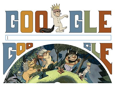 Google Honors Maurice Sendak With Doodle of Characters
