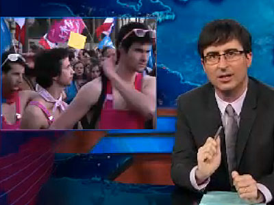 WATCH: John Oliver Eviscerates 'Crazy' Antigay Opponents Around the World
