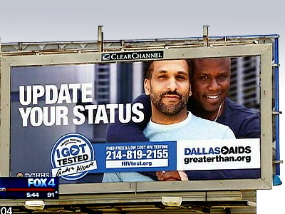 "Dallas Councilwoman Objects to ""Homosexual Conduct"" in HIV Testing Billboard"