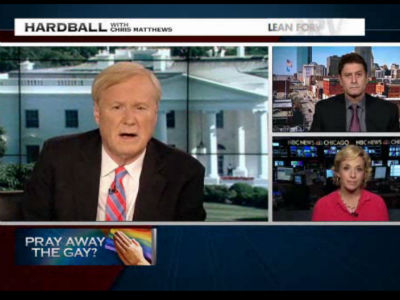 WATCH: 'Hardball' on the 'Ex-Gay' Movement