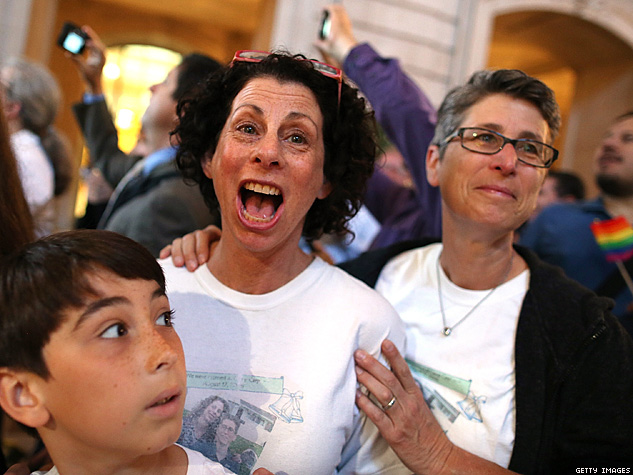 DOMA UNCONSTITUTIONAL; CALIFORNIA BAN ON MARRIAGE DEAD