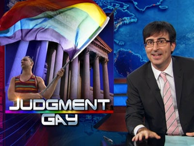 Judgment Gay: Daily Show Mocks Justice Scalia